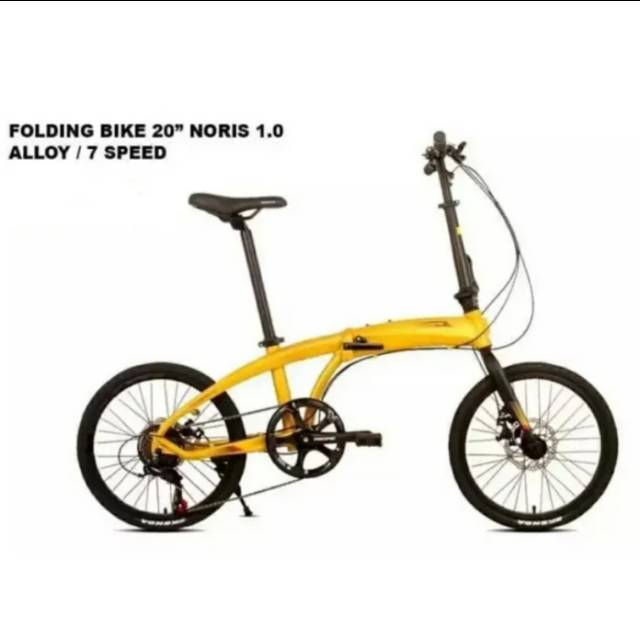 Element Folding Bike Ecosmo Captain America