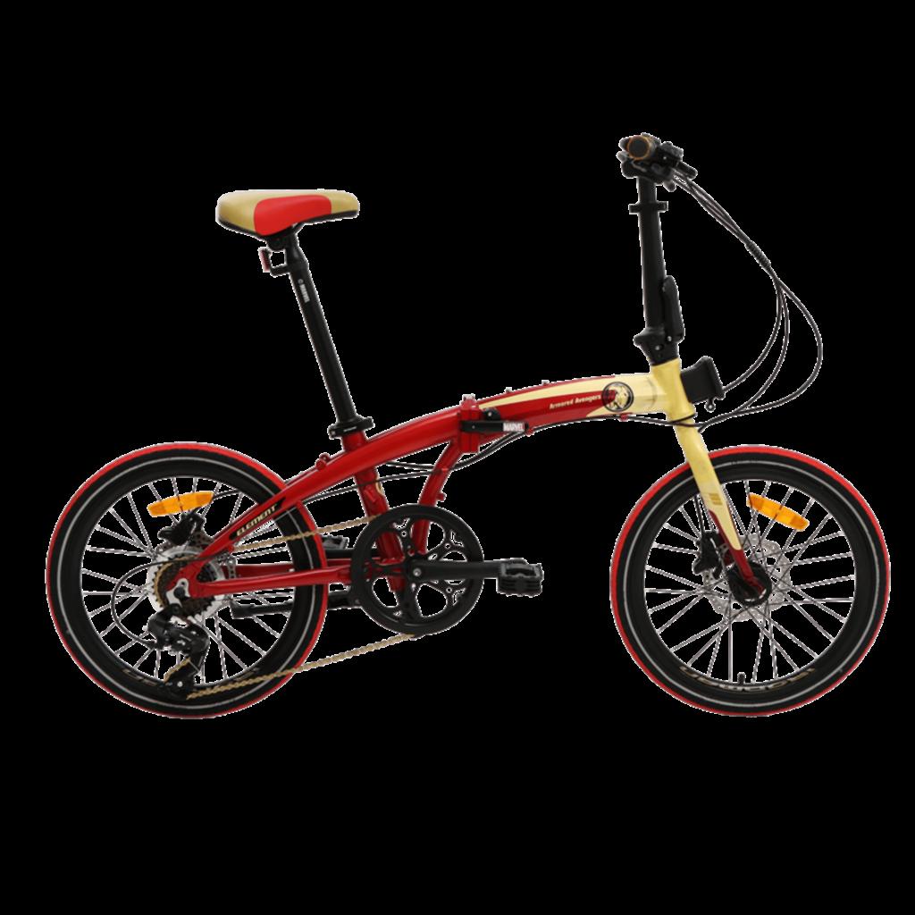 Element Folding Bike Ecosmo Iron Man