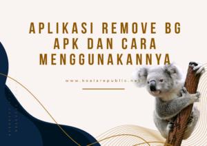 remove bg apk