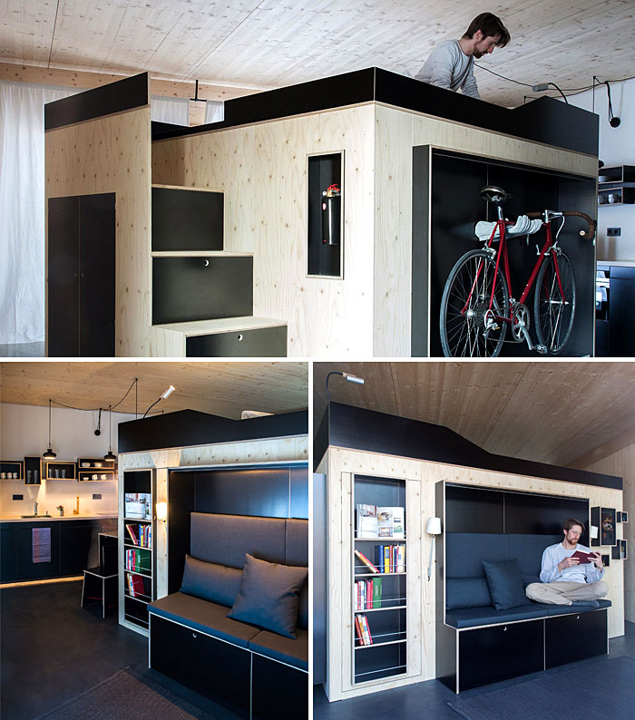 furniture island modern living space