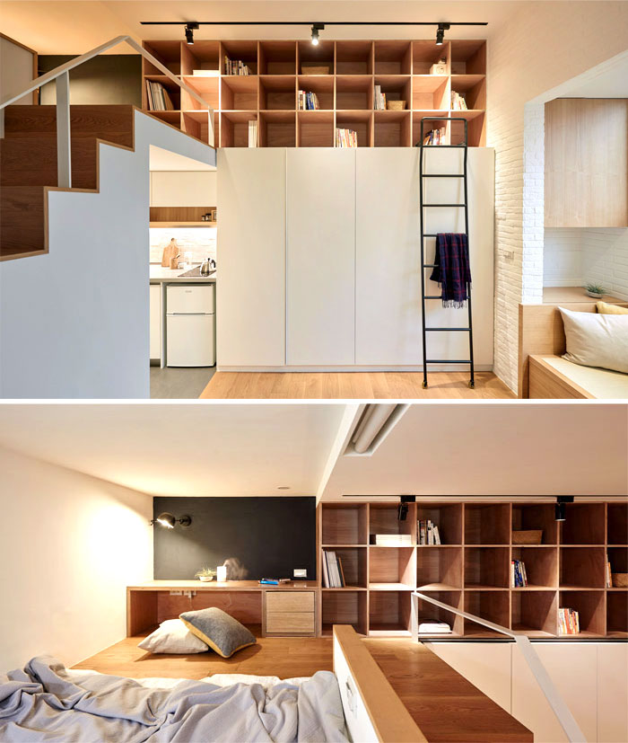 small studio apartment design young people